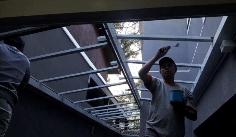 Cobertura de Vidro para Garagem Preço Embu das Artes - Cobertura em Vidro para Pergolado
