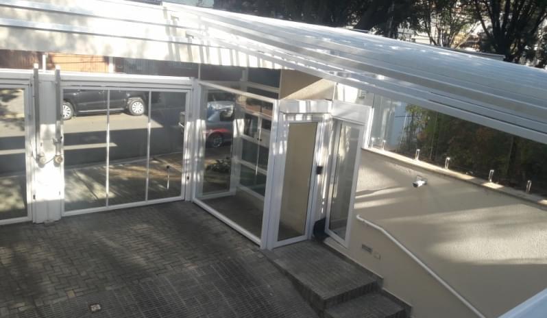 Cobertura de Vidro para Jardim de Inverno Parque São Domingos - Cobertura em Vidro para Pergolado