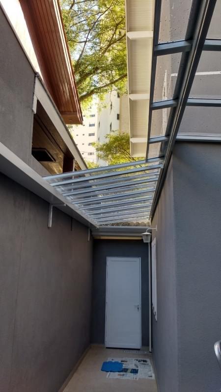 Cobertura de Vidro para Lavanderia Cachoeirinha - Cobertura em Vidro para Pergolado