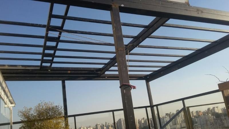 Cobertura de Vidro para Quintal Limão - Cobertura em Vidro para Pergolado