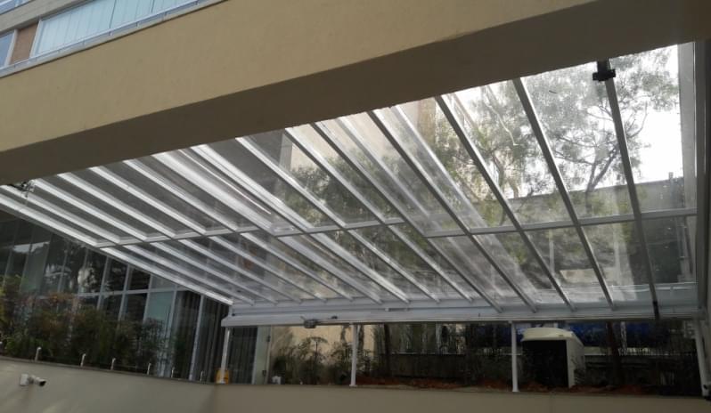 Cobertura de Vidro para Varandas Parque São Rafael - Cobertura em Vidro para Pergolado