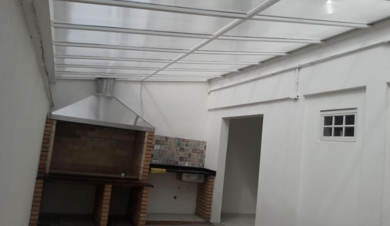 Cobertura em Policarbonato Alveolar para Churrasqueira Preço Vila Marcelo - Cobertura em Policarbonato Alveolar para Garagem