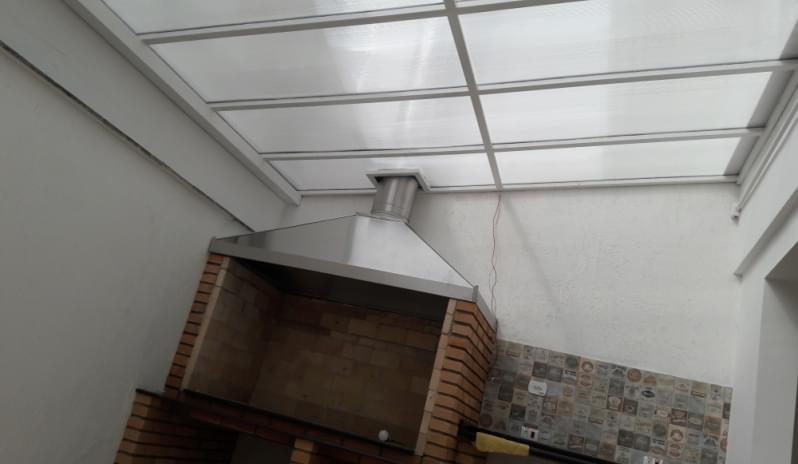 Cobertura em Policarbonato Alveolar para Garagem Raposo Tavares - Cobertura em Policarbonato Alveolar para Garagem