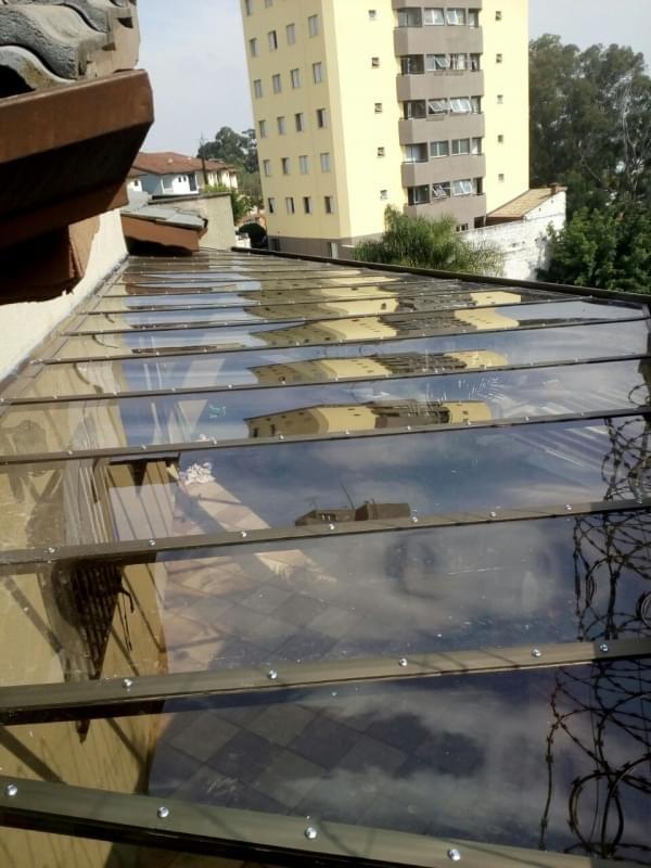 Cobertura em Vidro para Pergolado Vila Dalila - Cobertura em Vidro para Pergolado