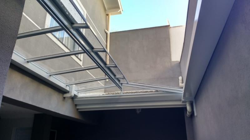 Coberturas de Vidro para Jardim de Inverno Campo Limpo - Cobertura em Vidro para Pergolado