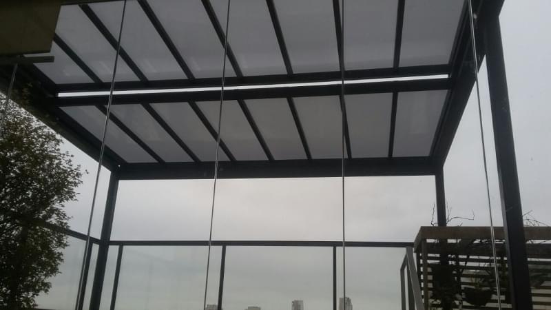 Coberturas de Vidro para Pergolado Bertioga - Cobertura em Vidro para Pergolado