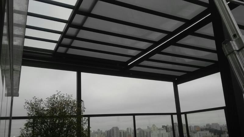 Coberturas em Vidro para Garagem Santana - Cobertura em Vidro para Pergolado