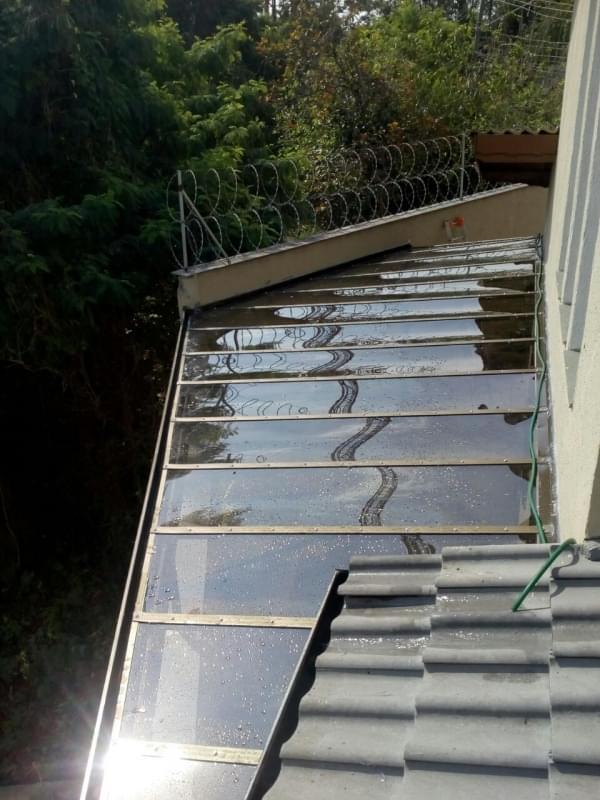 Coberturas em Vidro para Pergolado Bairro do Limão - Cobertura em Vidro para Pergolado