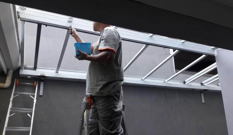Empresa de Cobertura de Vidro para Garagem M'Boi Mirim - Cobertura em Vidro para Pergolado