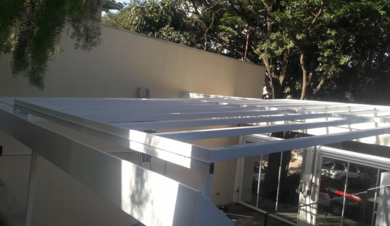 Empresa de Cobertura de Vidro para Janelas Campo Limpo - Cobertura em Vidro para Pergolado