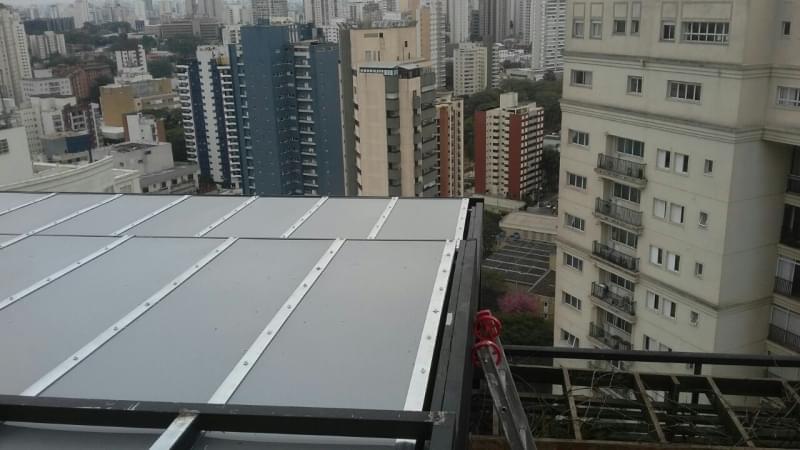 Empresa de Cobertura em Vidro para Garagem Vila Anastácio - Cobertura em Vidro para Pergolado