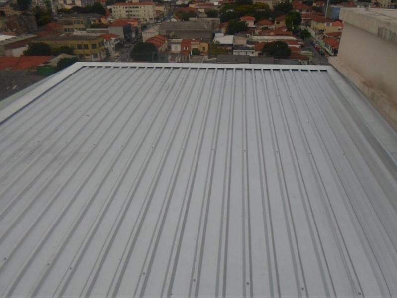 Empresa de Telhas de Zinco Inclinação Taboão da Serra - Telhas de Zinco Inclinação