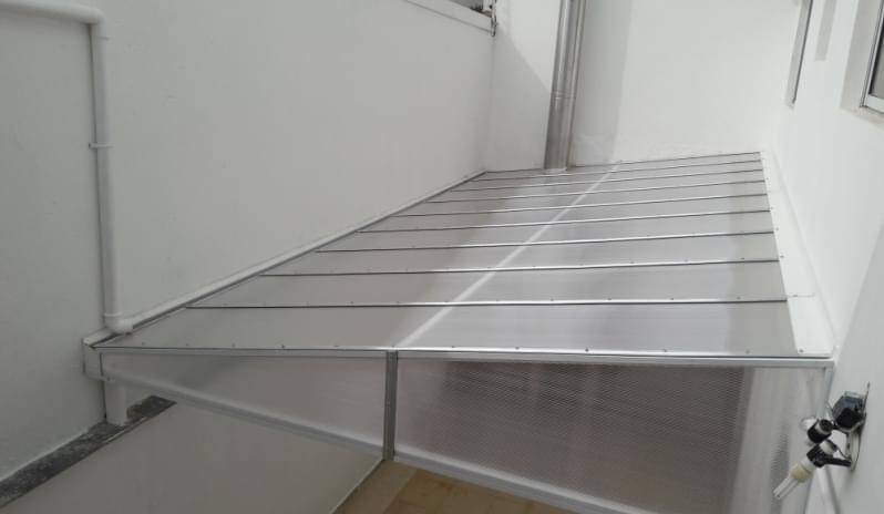Fábrica de Cobertura de Policarbonato Alveolar para Quintal Santo Amaro - Cobertura em Policarbonato Alveolar para Garagem