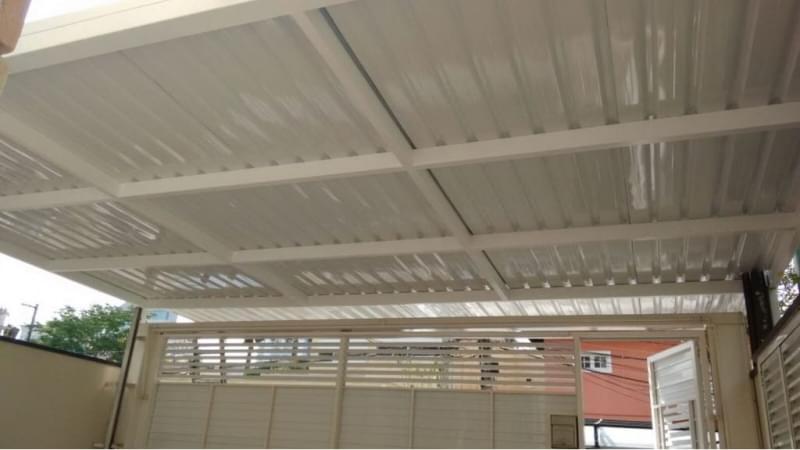 Instalação de Coberturas com Telhas de Vidro Cotia - Coberturas com Telhas de Alumínio