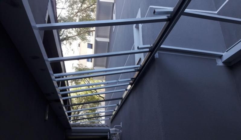 Quanto Custa Cobertura de Vidro para Garagem Penha - Cobertura em Vidro para Pergolado