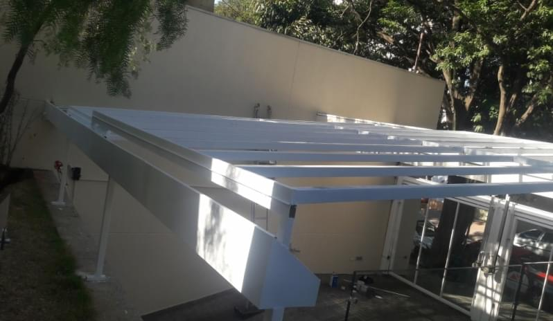 Quanto Custa Cobertura de Vidro para Janelas Água Rasa - Cobertura em Vidro para Pergolado