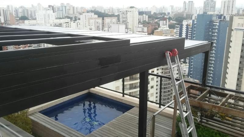 Quanto Custa Cobertura em Vidro para Garagem Vila Romana - Cobertura em Vidro para Pergolado