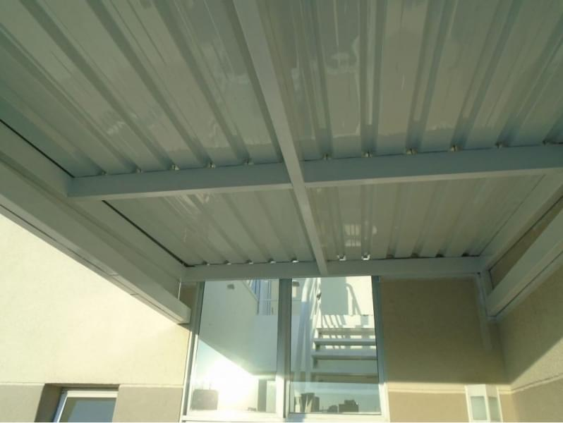 Telhas de Zinco com Isopor Preço Juquitiba - Telhas de Zinco Inclinação