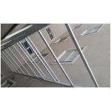 cobertura de policarbonato alveolar para janelas Brooklin