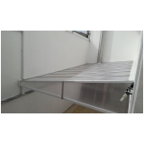 cobertura de policarbonato alveolar para varandas preço m2 Jardim Guarapiranga