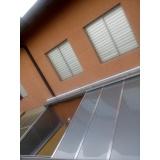 cobertura de policarbonato alveolar translúcido preço m2 Parque São Domingos