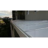 cobertura de policarbonato compacto para garagem Barueri