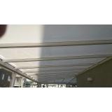 cobertura de policarbonato compacto para janelas preço m2 Jardim Guarapiranga