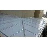 cobertura de policarbonato compacto para lavanderia preço m2 Brooklin