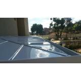 cobertura de policarbonato compacto para lavanderia preço Guararema