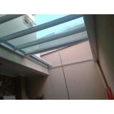cobertura de policarbonato compacto para piscina preço m2 Jardim Adhemar de Barros