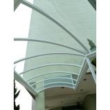 cobertura de policarbonato compacto translúcido preço Jardim Santa Terezinha