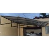 cobertura de policarbonato fixa para garagem Vila Morumbi
