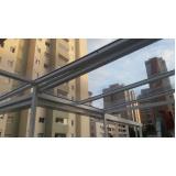cobertura de policarbonato fixa para janelas preço Biritiba Mirim
