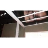 cobertura de policarbonato fixa para lavanderia preço m2 Serra da Cantareira