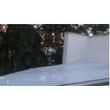 cobertura de policarbonato fixa para pergolado preço m2 Vila Maria