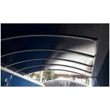 cobertura de policarbonato fixa para varandas preço Serra da Cantareira