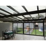 cobertura de policarbonato para varandas preço m2 Campo Grande