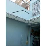 cobertura de policarbonato retrátil cristal preço m2 Jardim Iguatemi