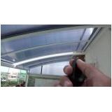 cobertura de policarbonato retrátil para garagem preço Jardim das Acácias