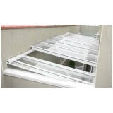 cobertura de policarbonato retrátil para janelas Mandaqui