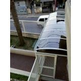 cobertura de policarbonato retrátil translúcida Ibirapuera