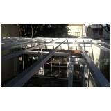 cobertura de vidro para janelas preço Mauá
