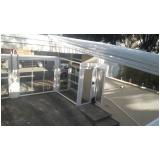 cobertura de vidro para jardim de inverno Parque Anhembi