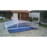 cobertura de vidro para lavanderia preço Parque São Jorge