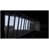 cobertura de vidro para piscina Pedreira