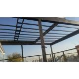 cobertura de vidro para quintal Jardim Morumbi
