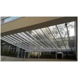 cobertura de vidro para varandas Carandiru