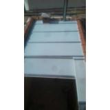 cobertura em policarbonato alveolar para garagem preço m2 Itaim Bibi