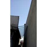 cobertura em policarbonato retrátil cristal preço m2 Jardim Iguatemi