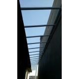 cobertura em policarbonato retrátil cristal preço Jardim Iguatemi